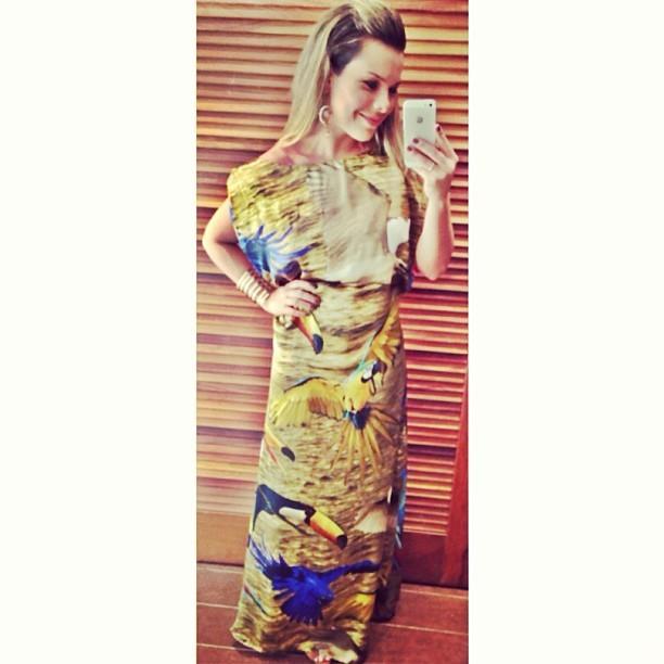 Fernanda Souza em casamento (Foto: reprodução do Instagram)
