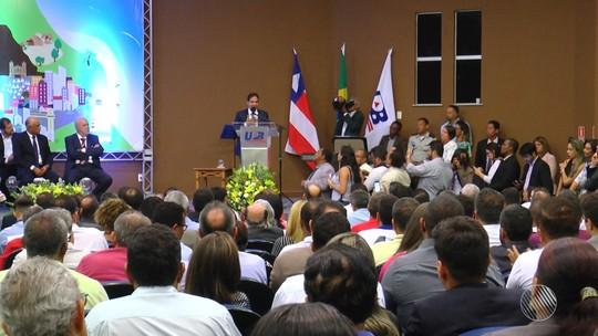 Eures Ribeiro toma posse da presidência da UPB, em Salvador