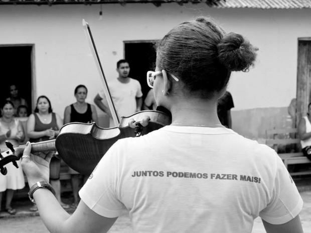 Ajuda humanitária, trabalho social, Expresso da Cidadania, Ouro Fino, Alexandre Barbado (Foto: Reprodução/ Alexandre Barbado)