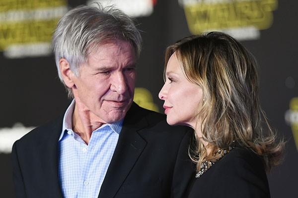 Harrison Ford e Calista Flockhart (Foto: Getty Images)