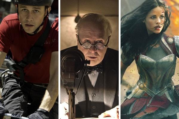 Joseph Gordon-Levitt, Gary Oldman e Jaimie Alexander já prejudicaram a saúde durante filmagens em Hollywood (Foto: Reprodução)