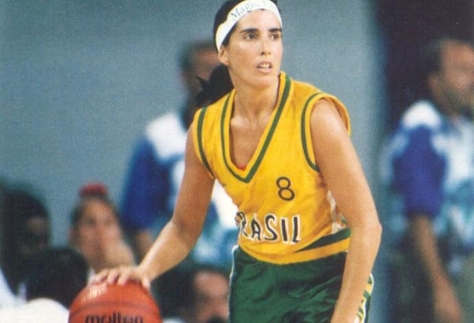 Magic Paula Basquete mundial 1994 (Foto: Divulgação / CBB)