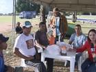 Vaqueiros acampam no CAB antes de sessão sobre vaquejada em Salvador