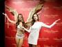 Alessandra Ambrósio, decotada, ganha réplica de cera na China
