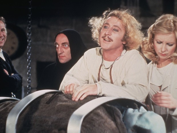 Gene Wilder em  'O Jovem Frankenstein Dr. Frankenstein' (1974) (Foto: Divulgação)
