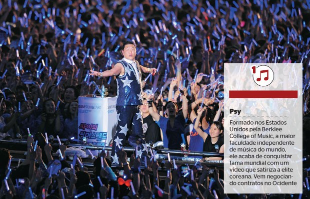 Psy (Foto: The Chosunilbo JNS/Multi-Bits/Getty Images)