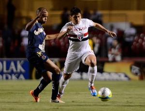 Osvaldo são Paulo e Penapolense (Foto: Mauro Horita / Globoesporte.com)