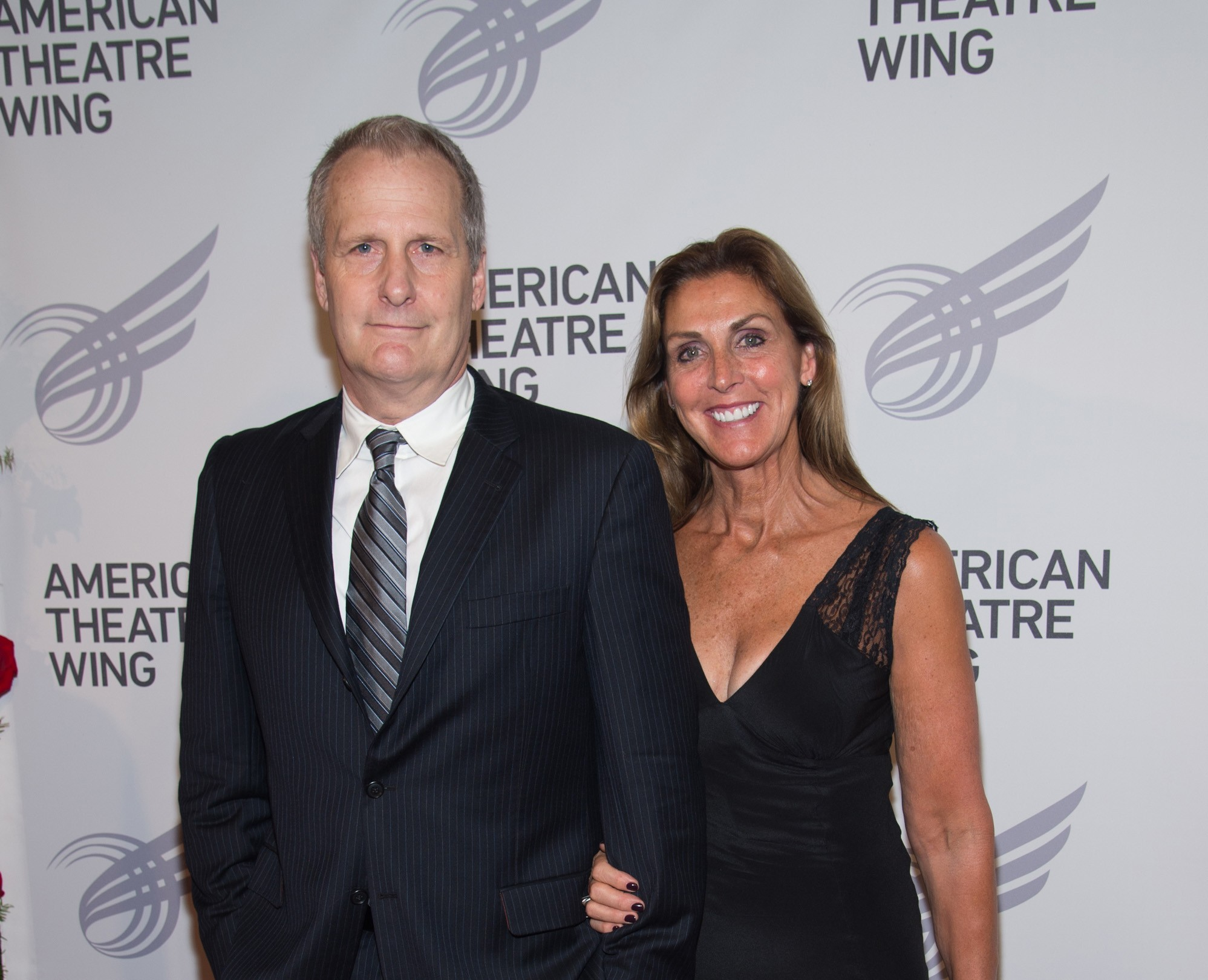 Jeff Daniels e Kathleen Treado (Foto: Getty Images)
