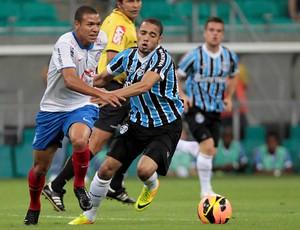 Marquinhos Gabriel e Adriano, Bahia x Grêmio (Foto: Eduardo Martins/Futura Press)