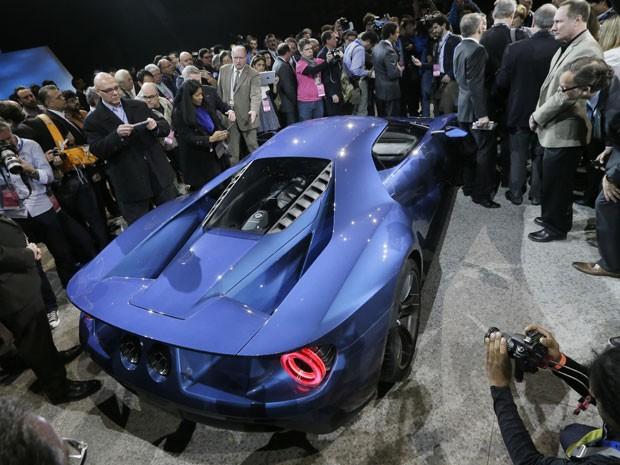 Novo Ford GT (Foto: AP Photo/Carlos Osorio)
