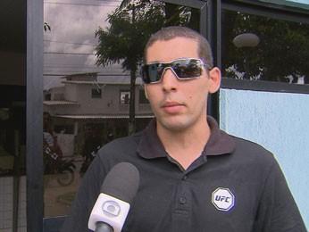 Victor Emanuel investiu R$ 500 e acha que perdeu tudo (Foto: Reprodução/TV Globo)