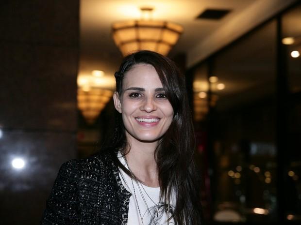 Fernanda Tavares em festa em São Paulo (Foto: Raphael Castello e Thiago Duran/ Ag. News)