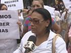 Funcionários realizam manifestação em hospital na Zona Sul de Manaus