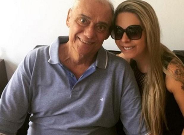 Marcelo Rezende e Luciana Lacerda  (Foto: Reprodução)