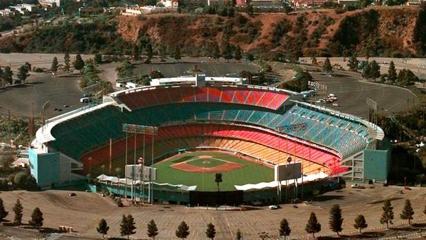 estádio los angeles dodgers baseball (Foto: Agência AP)