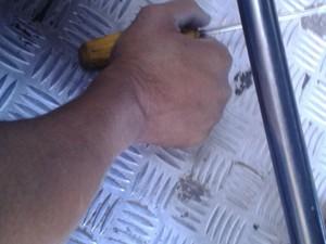 Vítima teria tentado reagir com uma chave de fenda (Foto: Divulgação/PM)