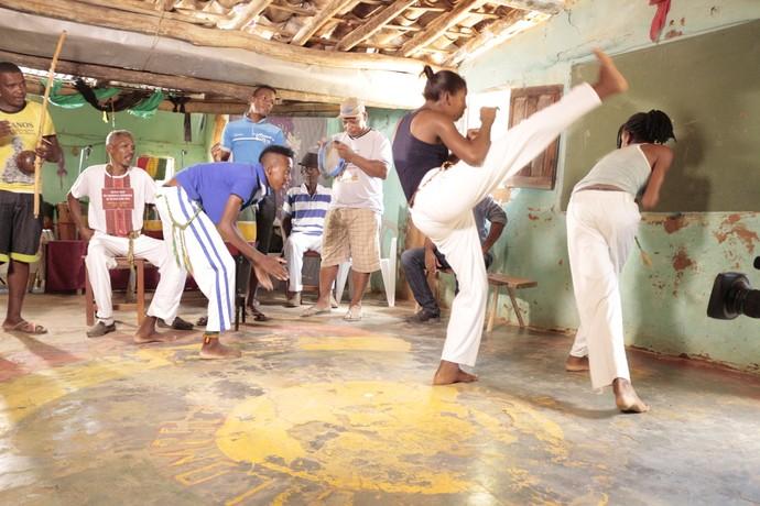 Comunidade quilombola Rio das Rãs preserva manifestações culturais afro-brasileiras (Foto: TV Bahia)