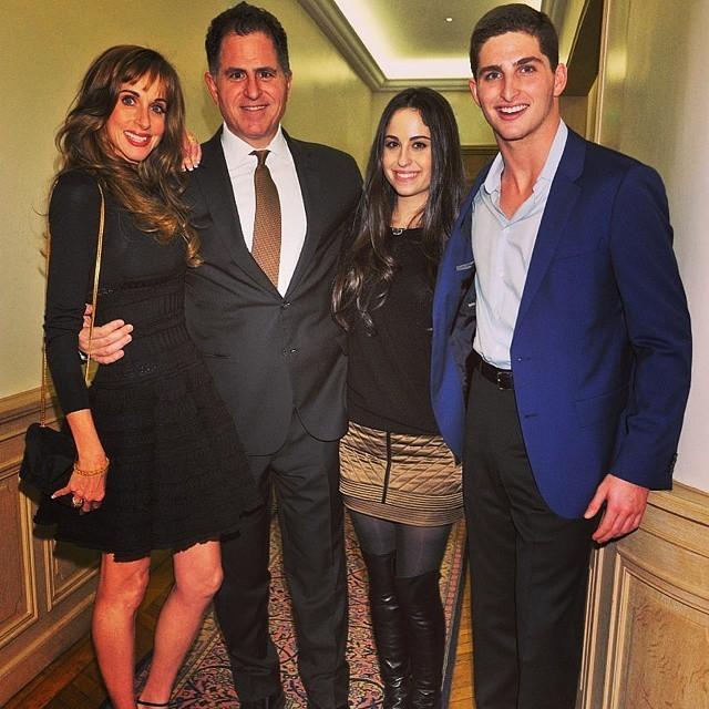 A família Dell (Foto: Reprodução/Instagram)