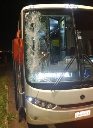 ônibus rio claro basquete (Foto: Divulgação / Rio Claro Basquete)
