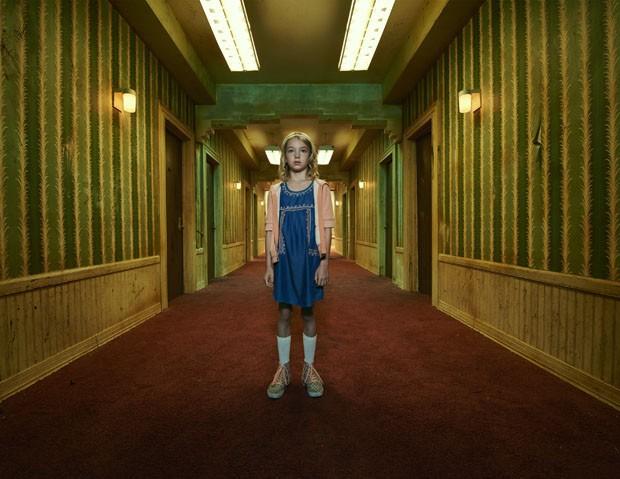 Por dentro do cenário da série American Horror Story (Foto: Divulgação)
