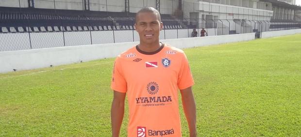 Val Barreto, novo atacante do Remo (Foto: Gustavo Pêna/GLOBOESPORTE.COM)