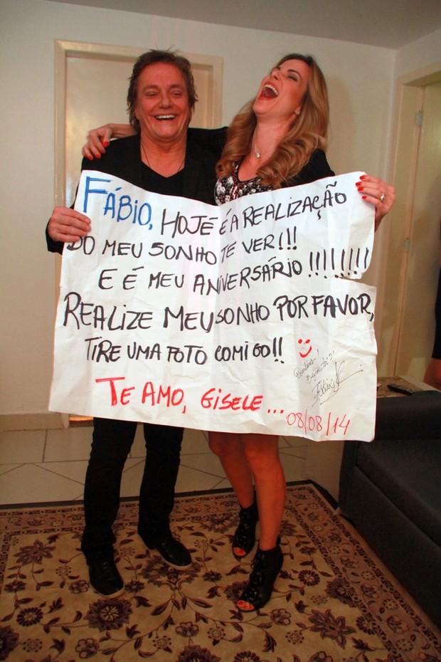 Fábio Jr e Ana Furtado  (Foto: Graça Paes /  Photo Rio News)