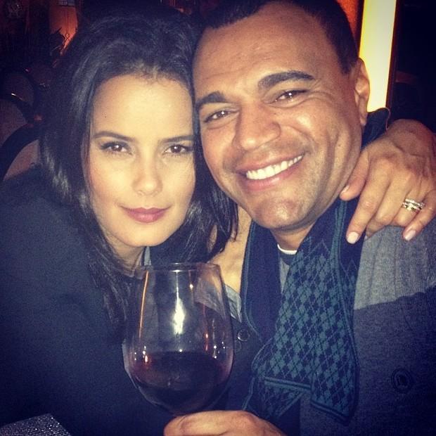 Denilson e Luciele Di Camargo (Foto: Reprodução/Instagram)