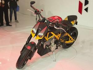 Hero Hastur é destaque no Auto Expo Show na Índia (Foto: Divulgação)