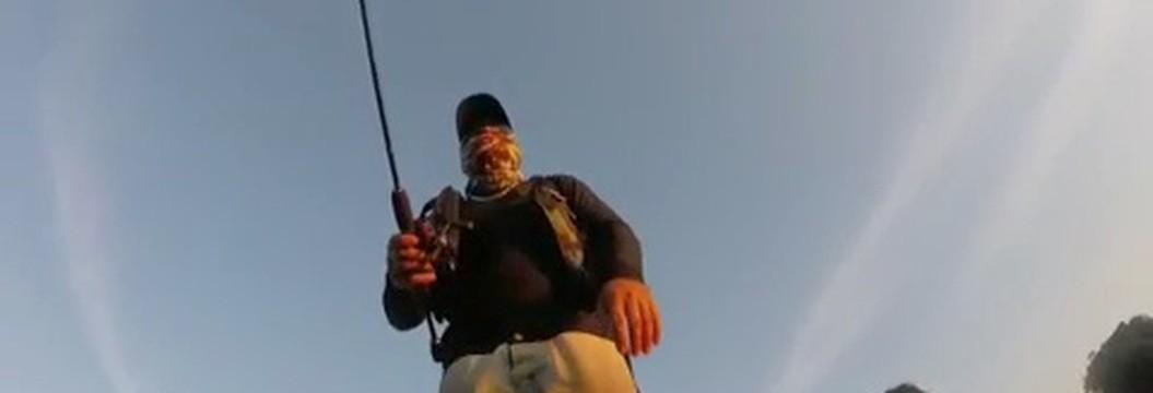 Atleta amador faz sucesso na internet com dicas de pesca esportiva em RO