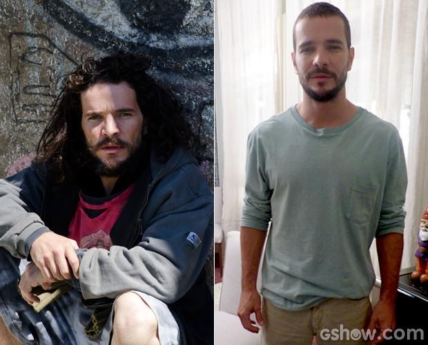 Transformações de Jesus vão além do penteado (Foto: Doce de Mãe /  TV Globo)
