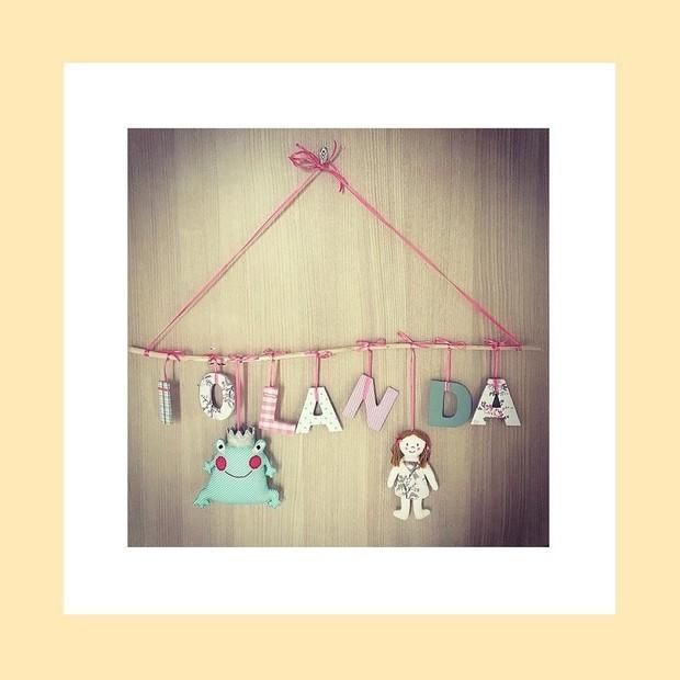 A decoração do quarto de Iolanda, aguardando sua chegada (Foto: Reprodução/Instagram)