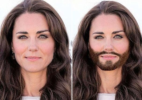 E Kate Middleton, que tal? (Foto: Reprodução)