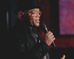 Samuel L. Jackson apresentou a décima edição do Video Game Awards, no Sony Pictures Studios, na sexta-feira (7). (Foto: Kevin Winter/Getty Images/AFP)