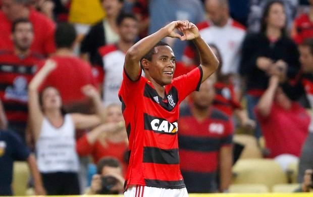 Elias gol Flamengo contra Criciúma (Foto: Ivo Gonzalez / Agencia O Globo)