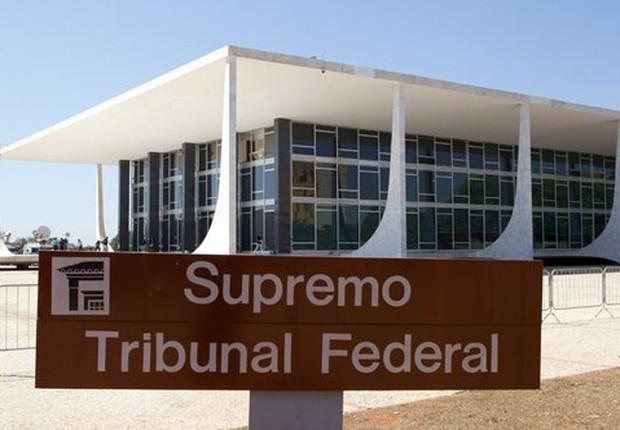 Supremo Tribunal Federal (STF) em Brasília (Foto: José Cruz/Agência Brasil)