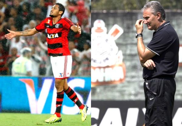 Tite faz uma das últimas partidas pelo Corinthians (Foto: Ivo Gonzalez/Agência O Globo/Daniel Augusto Jr./Agência Corinthians/Reprodução globoesporte.com)