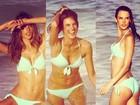 Perto de completar 32 anos, Alessandra Ambrósio exibe boa forma