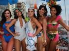 Famosas se fantasiam para o Bloco da Favorita, no Rio