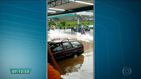 Mairiporã tem 40% da chuva esperada para o mês em um dia