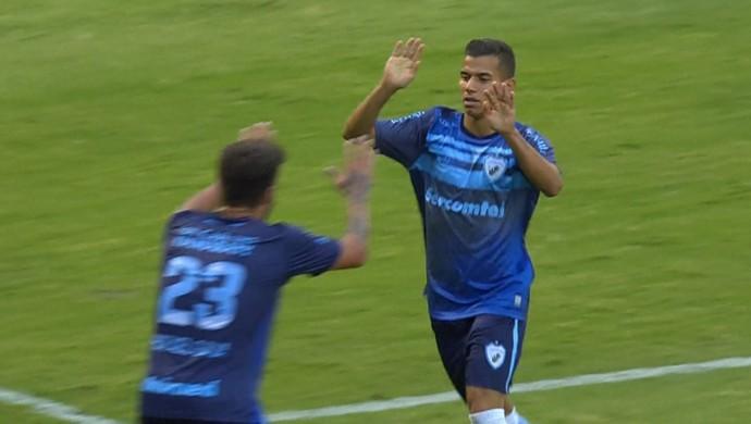Nabi Abi Chedid Bragantino Londrina (Foto: Reprodução/Premiere FC)