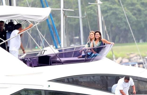 Eliana e Narciza (Foto: AgNews)