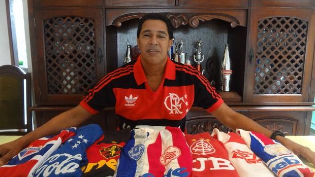 fe650b9e01 Heyder acumula passagem por diversos clubes do futebol brasileiro (Foto   Gustavo Pêna)