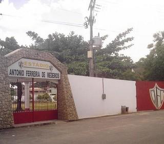 Estádio Antônio Ferreira de Medeiros (Foto: Diego Barbosa)