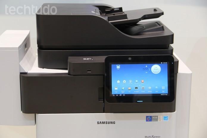 Com Android, impressoras têm funcionamento independente de PCs (Foto: Fabrício Vitorino/TechTudo)