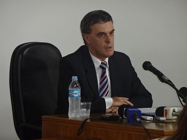 Juiz Santa Maria (Foto: Felipe Truda/G1)