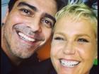Xuxa se declara para Junno Andrade em aniversário de namoro: 'Te amo'