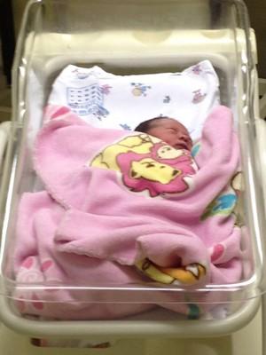 Gestação era de 36 semanas e parto foi emergencial (Foto: Amílcar Kooto Ikegame/Cedida)