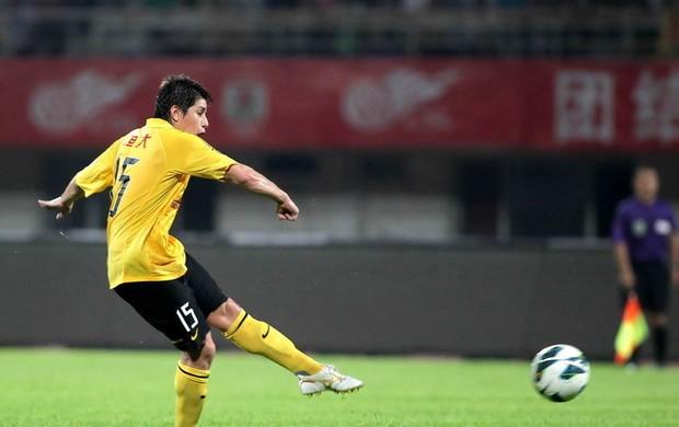 Dario Conca falta Guangzhou (Foto: Sina.com)
