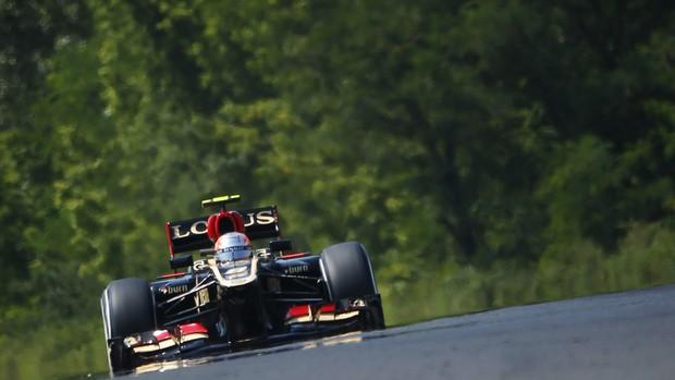 Romain Grosjean treino GP Hungria (Foto: Reuters)