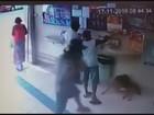 Cachorro é agredido a pauladas por morador de rua em Lambari, MG